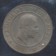 20 CENTIMES LEOPOLD I  1861  FDC - 1831-1865: Leopold I