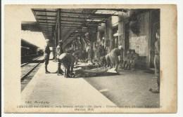 CHATEAU THIERRY - Nos Braves Alliés - La Gare - Evacuation Des Bléssés Américains - Juillet 1918 - Chateau Thierry