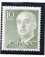 España. 10 Ptas Franco. Variedad Fuelle Horizontal Por Encima De La Palabra España - 1931-Hoy: 2ª República - ... Juan Carlos I
