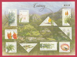 SOUTH AFRICA, 2013, Mint Sheet Stamps, Kirstenbosch Centenary F3305 - Unused Stamps