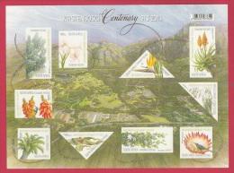 SOUTH AFRICA, 2013, Mint Sheet Stamps, Kirstenbosch Centenary F3305 - South Africa (1961-...)
