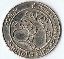 Nutella    Piece  Obelix  2 Eurosester  Metal 32  Mm - Nutella