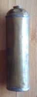 Bouillotte En Cuivre Soudure En étain De 30 Cm De Long Et 9 Cm De Diamètre - Cobre