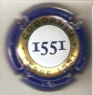 PLACA DE CAVA CODORNIU 1551 (CAPSULE) Viader:25844 - Mousseux