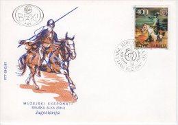 YUGOSLAVIA 1987 Traditional Folk Festivals On 4  FDCs.  Michel 2251-54 - FDC