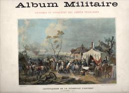 ALBUM MILITAIRE VICTOIRES ET CONQUETES DES ARMEES FRANCAISES CAMPAGNES DE 1792 ET 1793