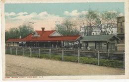 Vineland West Jersey Depot N.J.  Edit Post Card Distributing Philadelphia 15 - Etats-Unis