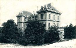 N°37366 -cpa Bagnoles De L'Orne -le Crédit Lyonnais- - Banques