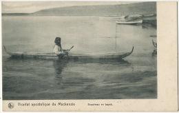 Esquimau En Kayak  Vicariat Apostolique Du Mackenzie Edit Nels Bruxelles - Territoires Du Nord-Ouest