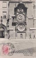 POZDRAV Z PRAHY  344 STAROCESKY ORLOJ   1907 - Tchéquie