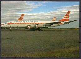 Carte Postale - Douglas DC-8-43 - Sterling Philippines - Neuve - 1946-....: Ere Moderne