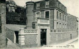 N°37374 -cpa Domfront -la Caisse D'Epargne- - Banques