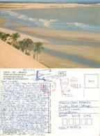 Praia De Jericoacoara, Cruz CE, Brazil Brasil Postcard Used Posted To UK 1989 Meter - Other