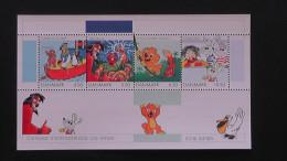 Denmark - 2002 - Mi.Nr. 1299-1302,bloc 18**MNH - Look Scan - Blocchi & Foglietti