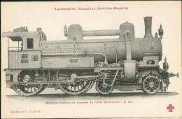 Locomotives Autriche - Hongrie - Machine Express De L'Etat Autrichien N°10618 - Treinen