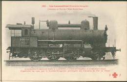 Locomotives Autriche - Hongrie - Construite Par Sté Hongroise Des Chemins De Fer De L'Etat N°146 - Treinen