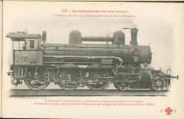 Locomotives Autriche - Hongrie - Construite Par Sté Hongroise Des Chemins De Fer De L'Etat N°3659 - Treinen