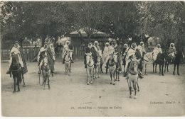 33 Algerie Groupe De Caids A Cheval - Algérie