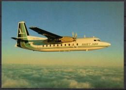 Carte Postale - Fokker F27 Mk600 - Swift Aire - Neuve - 1946-....: Moderne