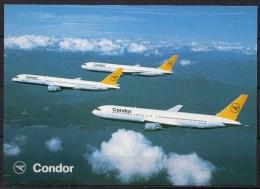 Carte Postale - Boeing 767 & 757 - Condor - Neuve - 1946-....: Moderne