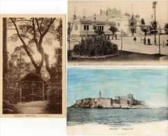 MARSEILLE - LA ROSE - 3 CPA - Saint Maur, Le Chateau D' If, Expo 1906 -Indo-Chine)  (65767) - Marseille
