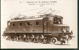 Locomotives  - Suisse -  Ac 3/6   N°10.323 - Trains