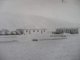 Archive Légion étrangère Aviation.Photo Originale 17.5 X 24 Le Camp De La Légion . 2ème R.E.P.. à Tiour. Parachutiste - Oorlog, Militair
