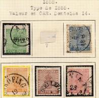 SUEDE - Collection De Classiques Du 19ème Siècle - 3 Scans - Suède