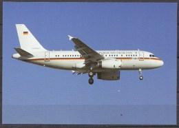 Carte Postale - Airbus A319-115 - German Air Force - Lisbonne 2012 - Neuve - 1946-....: Moderne