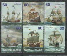 Marshall Islands 2000 SC 749a-749f MNH Ships - Marshall Islands
