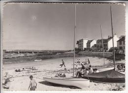 SAINT PIERRE QUIBERON 56  - La Digue Et Le Port - CPSM Dentelée GF 1965 - Morbihan - France