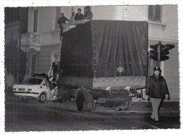 MILITARI - FOTO Cm 13,8 X 9,8 - Camion - Polizia - Fotografo Di Gallarate - Other