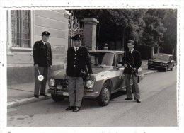 MILITARI - FOTO Cm 14 X 9,8 - Polizia - Fotografo Di Gallarate - Macchina - Other