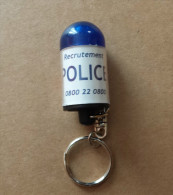 PORTE CLES POLICE GYROPHARE - Police & Gendarmerie