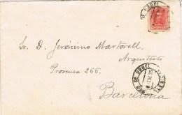 7754. Carta SEO De URGEL (Gerona) 1925 - 1889-1931 Reino: Alfonso XIII