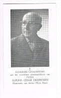 VEURNE - HEVERLEE - ITURI (Zaîre)  , Doodsprentje V. PATER Alfons TRIJPSTEEN  + 1985 - Documents Historiques