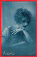 [DC6432] FOTOCELERE - PERCHE' DUBBIOSA - WHY DOUBT HIM - Old Postcard - Women