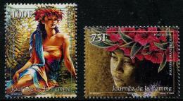 Polynésie Française 2014 - Journée De La Femme - 2 Val Neufs // Mnh - Polynésie Française