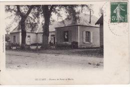 LE LUART  -  Bureau De Poste  Et Mairie - France