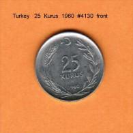TURKEY    25  KURUS  1960  (KM # 892) - Turkey