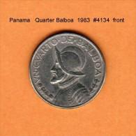 PANAMA    1/4  BALBOA  1983  (KM # 11a) - Panama