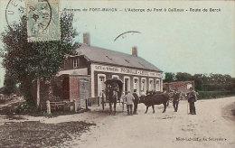 Unique 80 CPA FORT MAHON - Auberge Du Pont à CAILLOUX Route De BERCK - Fort Mahon