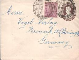 Indien / India - Umschlag Echt Gelaufen / Cover Used (x347) - Briefe
