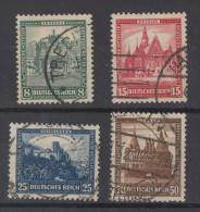 DR Minr.459-462 Gestempelt - Deutschland