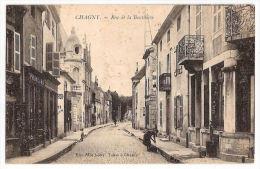 CPA Chagny Rue De La Bouthière 71 Saône Et Loire  Primeurs - Chagny
