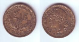 Togo 2 Francs 1924 - Togo