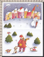 N2860GF/ Calendrier De L'Avent, Carte 3 D, Voir Dernier Scan - Noël