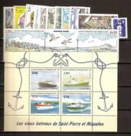 Saint Pierre Et Miquelon Année 1994 Complète ** Poste 592 à 608 - St.Pierre & Miquelon
