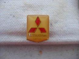 Pin´s Embleme Des Moteurs MITSUBISHI - Mitsubishi