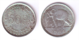 Belgian Congo 50 Francs 1944 - 1934-1945: Leopold III